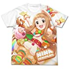 アイドルマスター シンデレラガールズ ともだちたくさん 市原仁奈 フルグラフィックTシャツ ホワイト XLサイズ