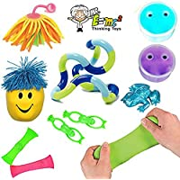 [ミスターE=mc2]Mr. E=mc² TM 10 Sensory Processing Toys Tools; Tangle Jr, Marble Fidgets, Therapy Putty; Kids and Adults [並行輸入品]