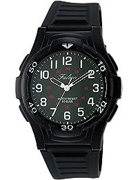 [シチズン キューアンドキュー]CITIZEN Q&Q 腕時計 Falcon ファルコン アナログ表示 10気圧防水 ウレタンベルト モスグリーン VP84-855