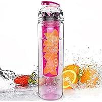 Beautyrain 1個 フルーツインフューザー ジュースメーカーウォーターボトル フレーバーブレンダー アンチ押出スポーツヘルスカップ