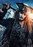 ポスター/スチール 写真 A4 パターン7 パイレーツ・オブ・カリビアン 最後の海賊 光沢プリント