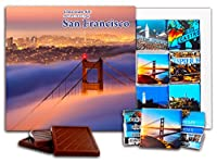 """DA CHOCOLATE キャンディ スーベニア """"サンフランシスコ"""" チョコレートセット 5×5一箱 (Bridge)"""