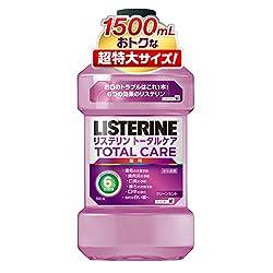 【Amazon.co.jp限定】【大容量】薬用 リステリン トータルケア マウスウォッシュ 1500ml [医薬部外品]