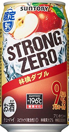 サントリー チューハイ -196℃ ストロングゼロ (林檎ダブル) 350ml×24本