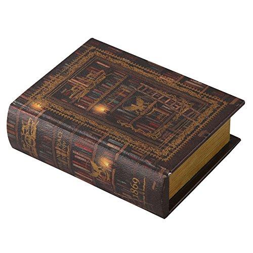 エンプティブック 古書型ボックス 小物入れ アクセサリーケー...