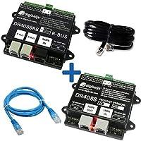 32レポートポイントのDR4088RB-OPTO_BOX RBUS™コンプリートスターターキット