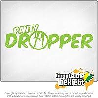 パンティドロッパー Panty dropper 20cm x 6cm 15色 - ネオン+クロム! ステッカービニールオートバイ