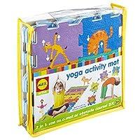 ALEX Active Yoga Activity Mat [Floral] [並行輸入品]