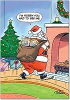 サンタKidnapクリスマスユーモアカード 12 Christmas Card Pack (SKU:B5734)