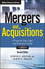 Mergers and Acquisitions, + Website: A Step-by-Step Legal and Practical Guide (Wiley Finance)