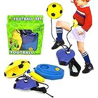 feamos Inflatable Soccer Toyギフトfor Boys Girlsインドアアウトドアゲームスポーツウォームアップ練習