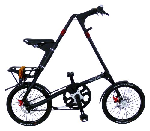 STRIDA(ストライダ) 18インチ折りたたみ自転車 内装3段変速 アルミフレーム 前後ディスクブレーキ STRIDA EVO マットブラック