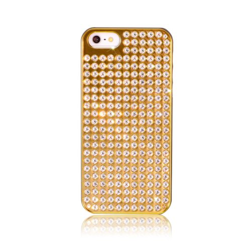 Bling My Thing Bling Extravaganza 【iPhone 5s/5用ケース】【SWAROVSKI ELEMENTS 使用】 Gold M Pure Crystal ゴールドエムピュアクリスタル EI5-GM-GL-CRY