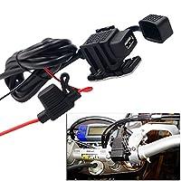 Zyhw単一新しいオートバイ携帯電話充電器USB車充電器車充電器GPSナビゲーションデバイス充電2.1A