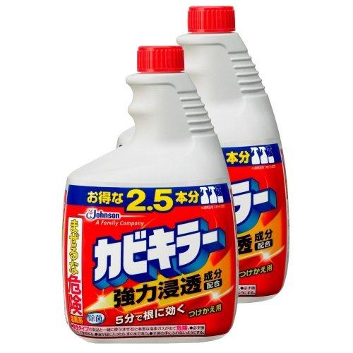 【まとめ買い】 カビキラー カビ取り剤 特大サイズ 付替用2本セット 1,000g×2本 -