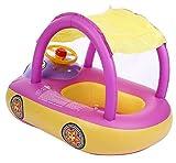 Homespun FloatライトパープルサンシェードBoat Seat Inflatable Swim水泳リングプールラフトベビーキッドギフト