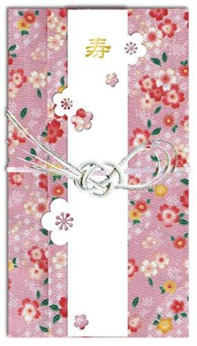 """[해외]손수건으로 만든 어 축의금 봉투 """"心?袋""""매화/A gift bag made of handkerchief """"Koinobuku"""" plum"""