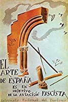"""Buyenlarge 0–587–28447–1-p1827Fascist Air Force """"の「スペインのアートはターゲットペーパーポスター、18"""" x 27"""""""