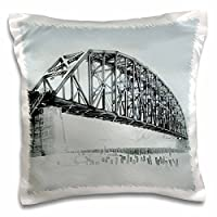 3dローズSandy Mertens Alabama – Covered Bridges of Alabamaフォトコレクション、on 1印刷 – 枕ケース 16x16 inch Pillow Case pc_184385_1