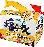サッポロ一番 塩らーめん 九州 ゆず胡椒風味 5個パック 510g ×6箱