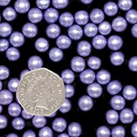 Natural 8mm Nuts Dairy Soy Gluten GMO Free shimmer Pearls (Purple)