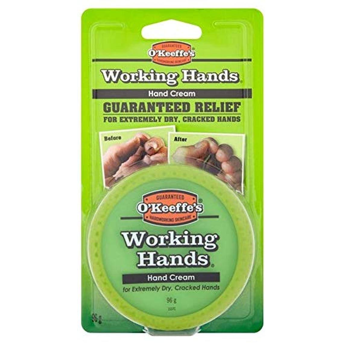 肥沃な良性ゴム[O'Keeffes] オキーフの作業の手クリーム96グラム - O'Keeffe's Working Hands Cream 96g [並行輸入品]