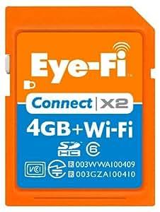 アイファイジャパン Eye-Fi Connect X2 4GB EFJ-CN-4G