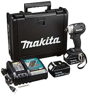 マキタ 充電式インパクトドライバ 18V 5.0Ah 黒 TD148DRTXB