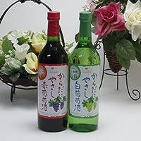 12本セット シャンモリワイン からだにやさしい葡萄酒12本セット 赤ワイン6本 白ワイン6本 720ml×12本 盛田甲州ワイナリー(山梨県)