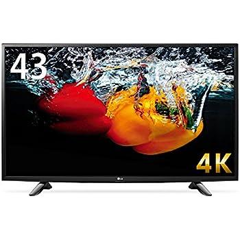 LG 43V型 液晶 テレビ 43UH6100 4K 外付けHDD裏番組録画対応  2016年モデル
