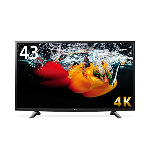 LG 43V型 4K液晶テレビ HDR対応 IPS4Kパネル 直下型LEDバ...