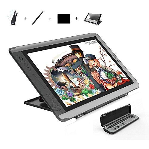 HUION 液晶タブレット Kamvas GT-156HDV2 アンチグレアガラス搭載15.6インチフルHD超薄型デザイン液晶