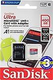 microSDXC 400GB SanDisk【3年保証】サンディスク UHS-1 超高速U1 FULL HD アプリ最適化 Rated A1対応 専用SDアダプ付 海外向パッケージ品 [並行輸入品]
