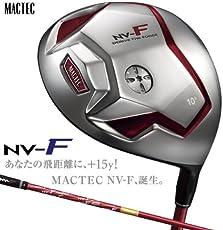 マグレガー MACTEC ドライバー マックテック NV-F TYPE-2NV-RED ドライバー NV-RED専用モトーレMF-4346シャフト 10度 R45インチ