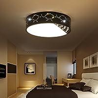 cChYH LED天井ランプラウンドアイアンベッドルームミニマリストモダン北欧部屋暖かいロマンチック結婚部屋クリエイティブリビングルームEyeランプ、 7224988059772