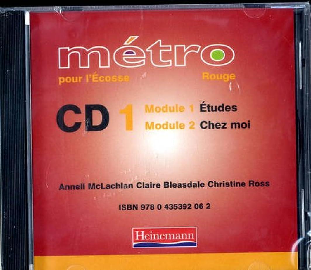 非難するバッグそばにMetro Pour L'Ecosse Rouge Audio CD Pack of 4