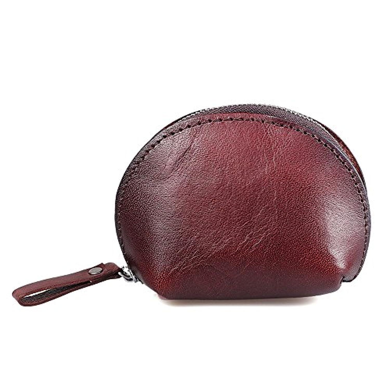 がま口 小銭入れ コインケース レディース 牛本革 財布 キー ケース ポーチ おしゃれ 高品質 多機能バッグ