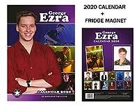 ジョージエズラカレンダー2020 +ジョージエズラ冷蔵庫マグネット