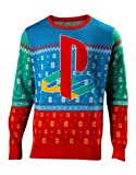 Playstation Christmas Jumper Tokyo Logo 新しい 公式 Gamer メンズ Knitted Size S