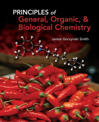 Download Student Study Guide/Solutions Manual for Principles of General, Organic & Biochemistry 0077385624