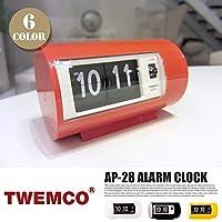 AP-28 ALARM CLOCK(アラームクロック) パタパタクロック TWEMCO(トゥエンコ) オレンジ
