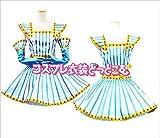 非実力派宣言★森高千里 ミニスカ ワンピース ドレス 髪飾り付き☆コスプレ衣装