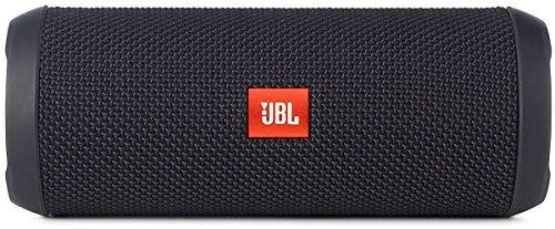 JBL FLIP3 Bluetoothスピーカー IPX5防水機能 ポータブル/ワイヤレス対応 ブラック JBLFLIP3BLK 【国内正規品】