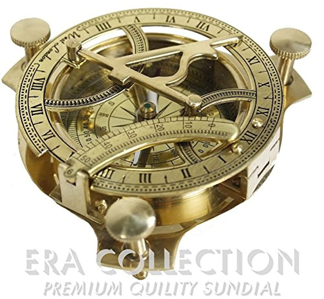 一貫性のない摂氏度お気に入り日時計コンパス4