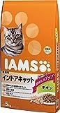 アイムス (IAMS) 成猫用 インドアキャットチキン 5kg [キャットフード・ドライ]