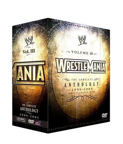 WWE レッスルマニア・アンソロジーBOX3 XV-XXI (3000セット限定) [DVD]