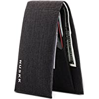 Wallets for Men - Slim Wallet - Mens Wallet - Thin Microfiber Bifold Card Holder - Minimalist Wallet Designed to Hold 8 Credit Cards Cash and an ID
