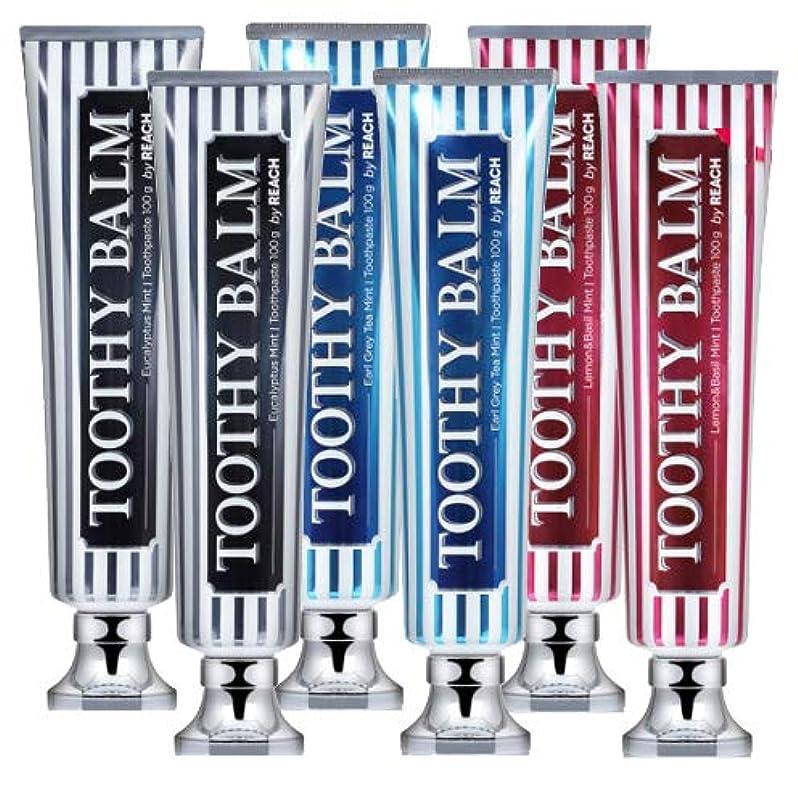 活発勤勉雹[LG HnB] Rich Tosea Balm Premium Toothpaste/リッチツシ夜プレミアム歯磨き粉 100gx6個(海外直送品)