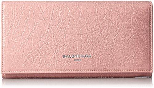 [バレンシアガ] BALENCIAGA レディース NAVY WALLET 2つ折り長財布【並行輸入品】 419806CU50N 5715 (ピンクベージュ)