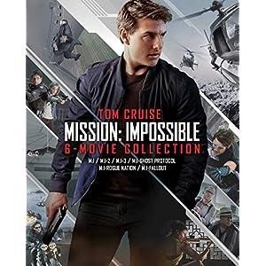 【Amazon.co.jp限定】ミッション:インポッシブル 6ムービー・ブルーレイ・コレクション<初回限定生産>ボーナスブルーレイ付き 7枚組(ビジュアルシートセット付き) [Blu-ray]